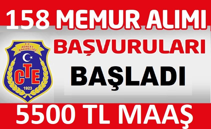 158 Ceza İnfaz Kurumu Katibi Alımı Yapılacak!