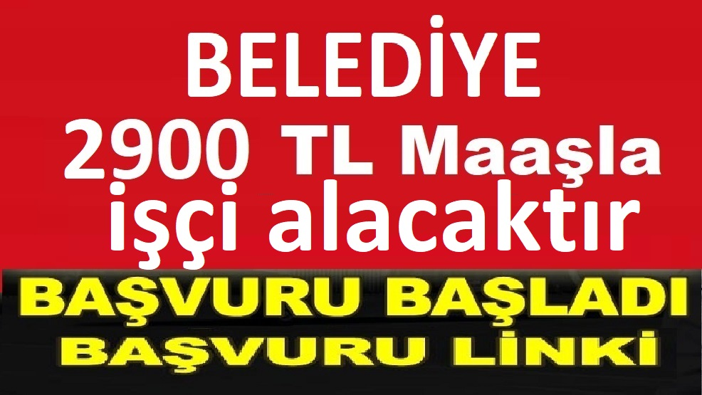 Karakapı Belediyesi çöpçü alacaktır TYP iş ilanları