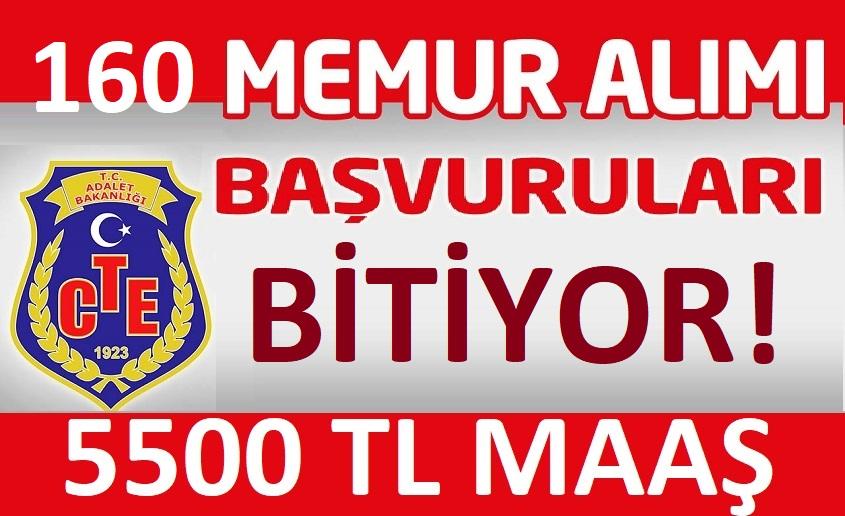 Ceza İnfaz Kurumlarına 160 memur alımı yapılacak!