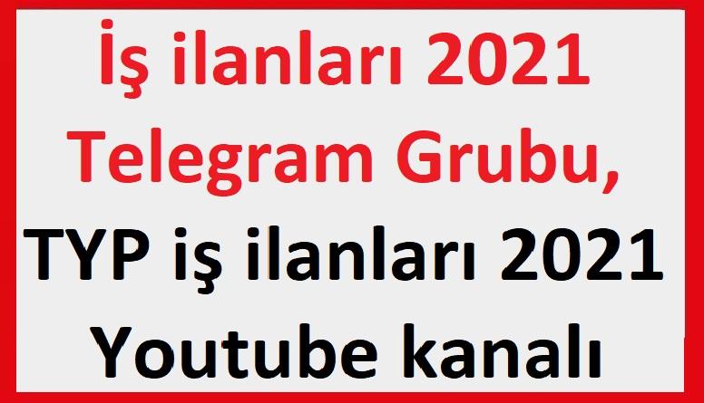 2021 KPSS Memur Alımları Telegram Grubu , Youtube iş Başvurusu Kanalı