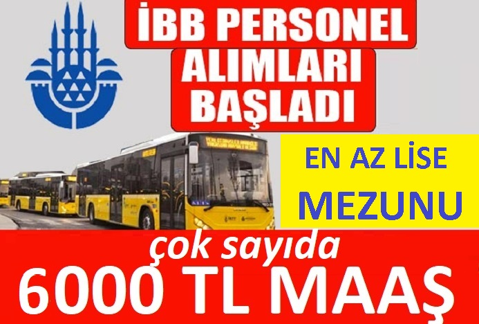 İstanbul Belediyesi şirketi Günbel 33 işçi Alacaktır