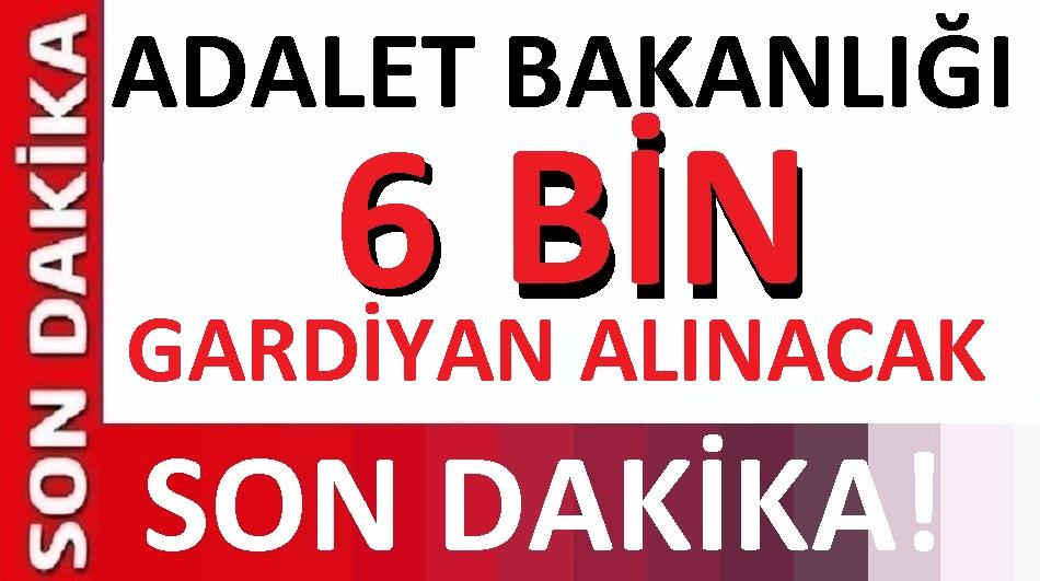6 bin İKM İnfaz Koruma Gardiyan Memuru alımı