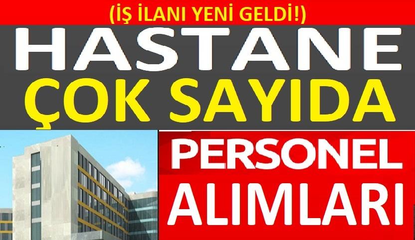 Mersin Üniversitesi Hastanesi Personeller Alacaktır
