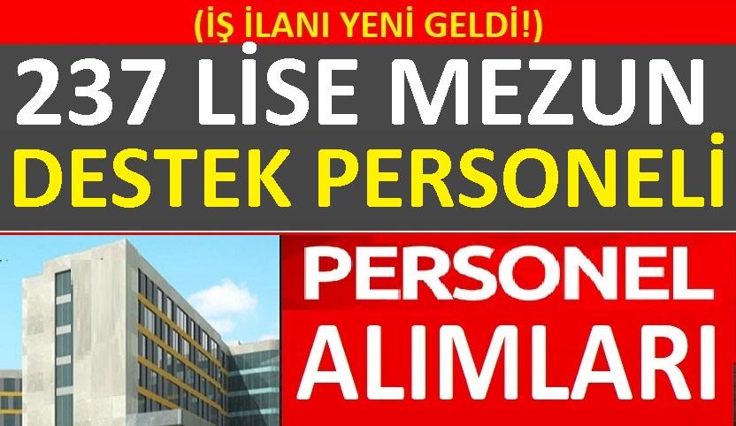 Adalet Bakanlığı En Az Lise Mezunu 237 personel alımı yapacak.