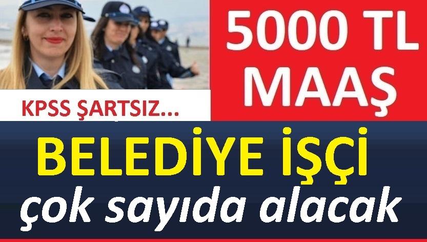 Nevşehir Ürgüp Belediyesi 25 işçi alacaktır!