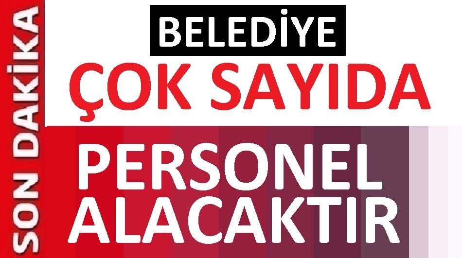 Zonguldak Çaycuma Belediyesi iş ilanlar yayınladı!