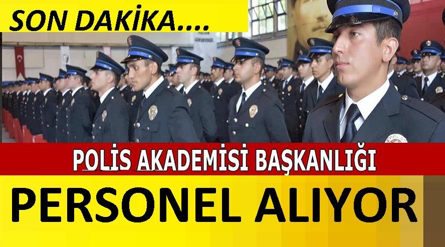Polis Akademisi 2 AYRI İLANLA 2021 YILI öğretim elemanı alacak