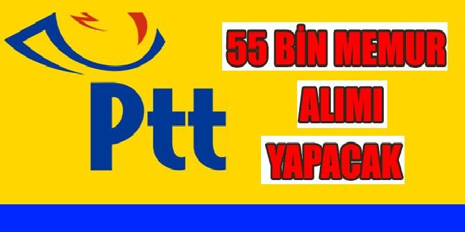 PTT 55 Bin Kamudan Kariyer Personel Alım İlanı Kadrolar
