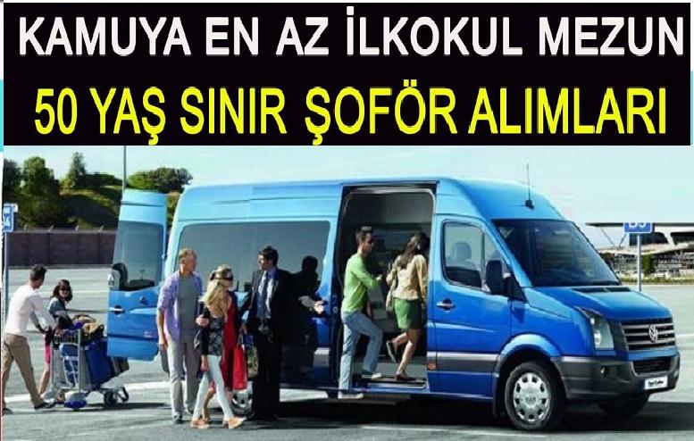 İZELMAN Yolcu Taşıma Şoförü, 22 İşçi Alacaktır.