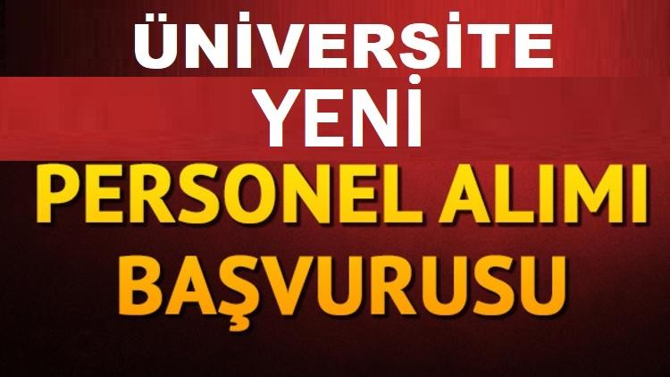 Dokuz Eylül Üniversitesi bünyesinde iş başvuru ekranı açılmıştır