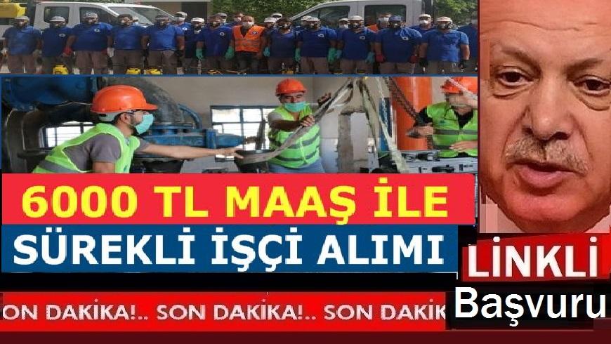 Kadrolu işçi alımı ilanları