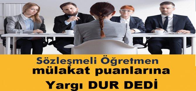 Mülakatta Hakkı Yenen Öğretmen Adaylarına Büyük Müjde Emsal Yargı Kararı