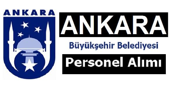 Ankara Büyükşehir Belediyesi Kamu İşçi Alım ilanı