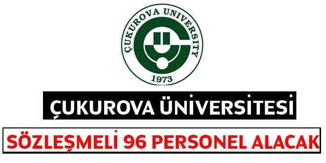 Çukurova Üniversitesi 96 Kamudan Kariyer işçi Alım İlanı.