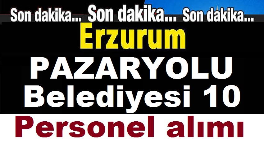 Erzurum Pazaryolu Kamudan Kariyer İş İlanı
