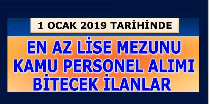 1 Ocak 2019'da Başvurusu Bitecek Tübitak Kamudan Kariyer Memur Alımları