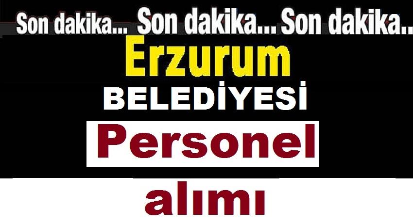 Erzurum Eski Kamudan Kariyer Personeli Alımı