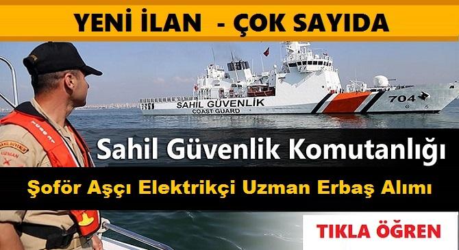 Sahil Güvenlik 2019/2 uzman erbaş alımı BAŞVURULARI BİTİYOR