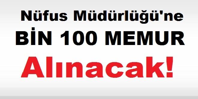 NVİ 1.100 Nüfus Memuru Alımı Yapılacak