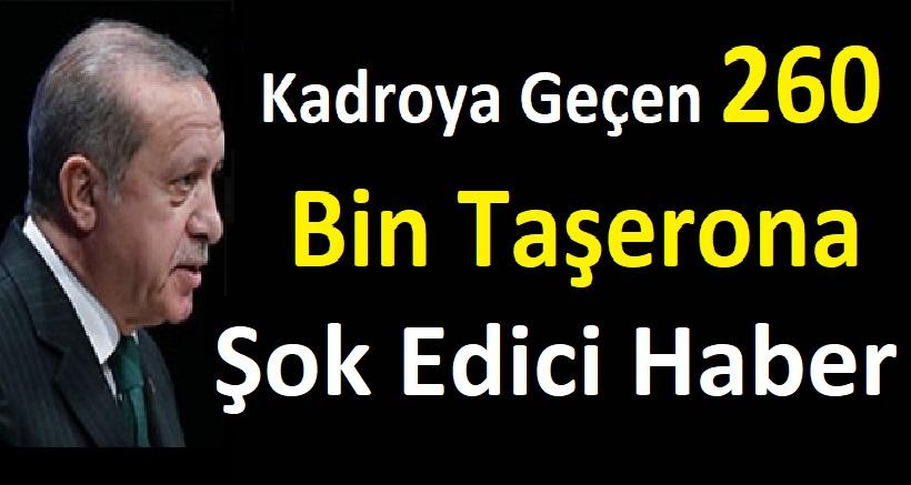 Kadroya Geçen 260 Bin Taşerona neden zam gelmedi?