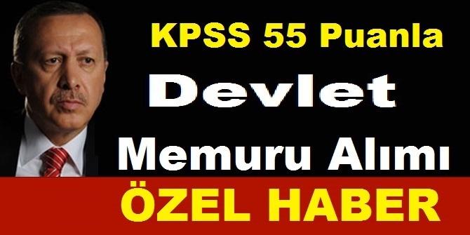 KPSS En Az 55 Puan ile Daimi VHKİ ve Kamudan Kariyer Memur Alım İlanı