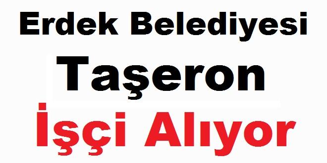 Balıkesir Belediyesi Taşeron işçi Alıyor