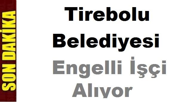 Tirebolu Belediyesi Engelli İşçi ilanı