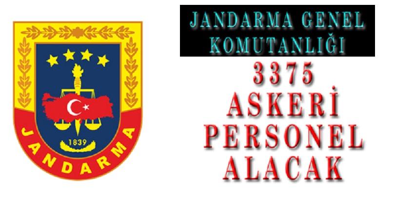 Jandarma ve Sahil Güvenlik Akademisi 3375 Erkek Kadın Subay Astsubay Alımı