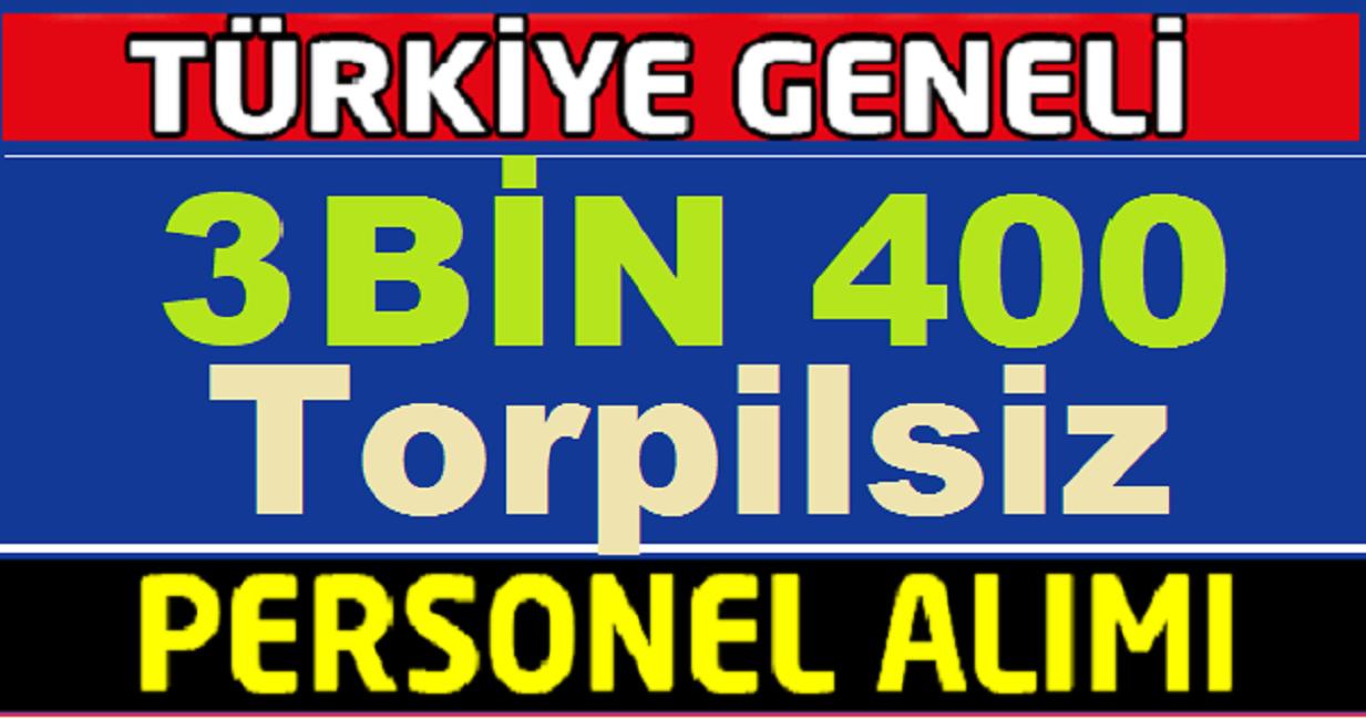 Mart 2019 İşkur TYP Kapsamında 3 Bin 400 Kamu Personeli Alımı
