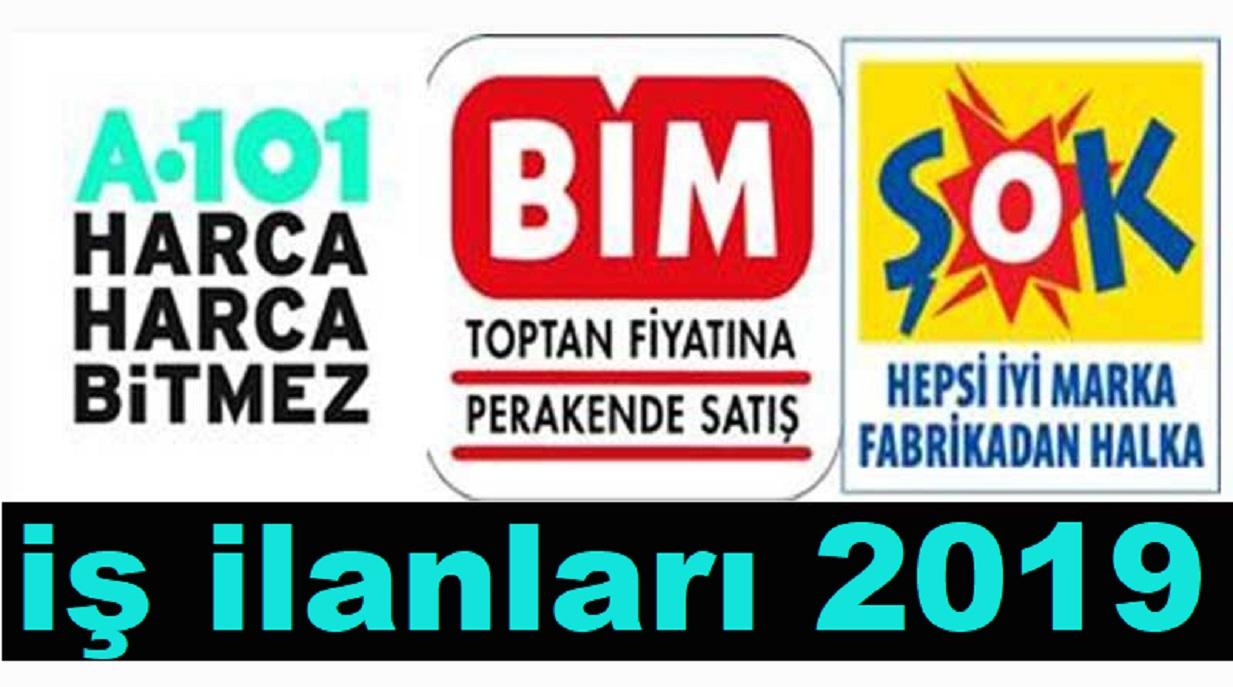 Şok ve A101 Türkiye Geneli İş ilanları ve Engelli Personel Alıyor