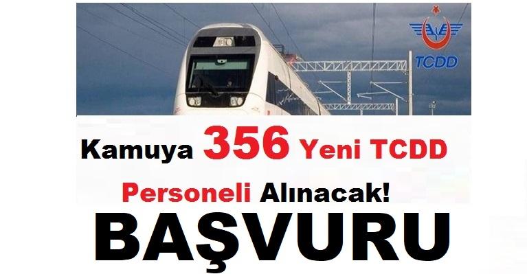 Türkiye Cumhuriyeti Devlet Demir Yolları 354 Personel Alımı