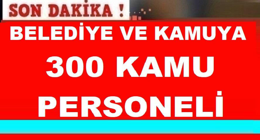 İşkur Aracılığıyla 300 Kamudan Kariyer Personeli Alımı