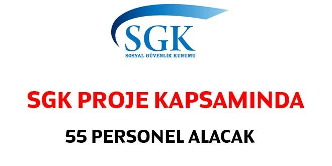 Sosyal Sigortalar Kurumu SGK 55 Kamu Personeli Alımı