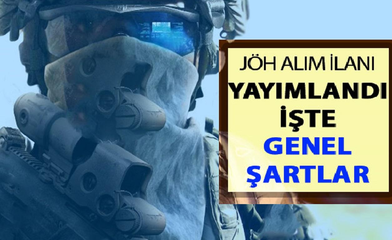 Jandarma Özel Harekat (JÖH) Alımı 2019