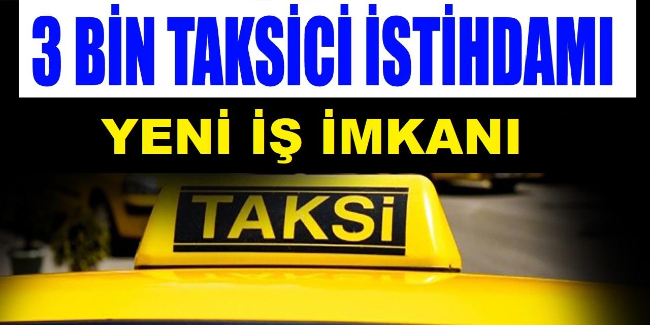 3. İstanbul Havalimanına 3.000 Taksi Alımı