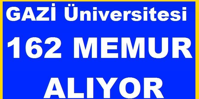 Gazi üniversitesi Kariyer memur alımları