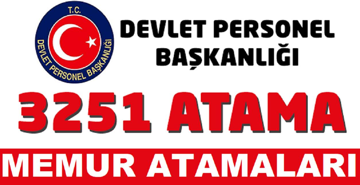 DPB Şehit ve Gazi Yakını Yeni Memur Atama Duyurusu