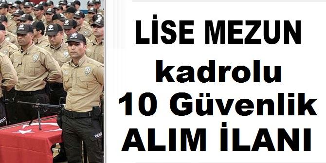 Şehzadeler Belediyesi Güvenlik Personeli Alıyor