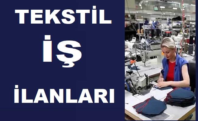 İşkur iş ilanları 2019 - Tekstil Elemanı iş ilanları