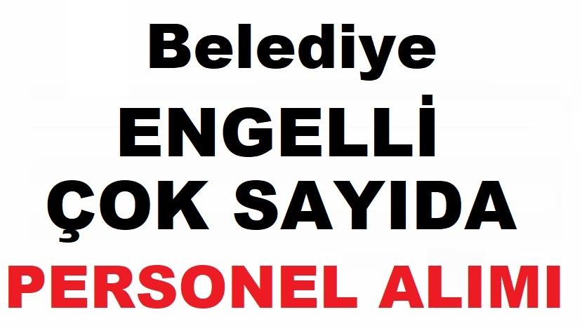 İstanbul Beyoğlu Belediyesi Engelli Çok Sayıda Kamu Personel Alımı