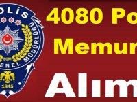 Emniyete 4080 Polis Memuru Alımı İçin Kadro Verildi