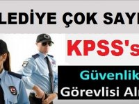 Güzelbahçe Belediyesi kpss şartsız 50 Özel Güvenlik Görevlisi ve Temizlik Görevlisi alıyor