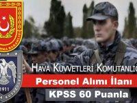 60 KPSS İle Personel Alım İlanı Yayımladı!