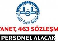Diyanet 463 Personel İlanı
