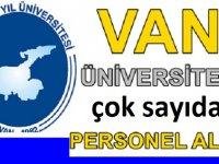 Van 2020 Üniversite iş ilanları 2020
