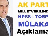 Milletvekilin'den Çok Konuşulacak KPSS Torpil ve Mülakat Açıklaması