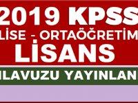 2019 KPSS ve Öğretmen Alan Bilgisi Sınavı Başvuru Kılavuzu Açıklandı
