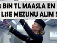 Onur Air ve MCCTI 14 bin TL Maaşla kabin memuru alımı