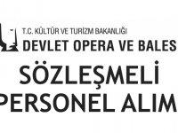 Mersin Devlet Opera ve Balesi Sözleşmeli Sanatçı Alıyor
