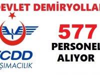 TCDD TEDAŞ Eti Maden 577 Personel Alımı Kadro Dağılımı
